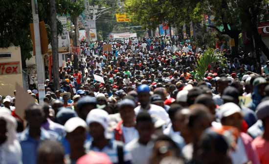Haitian opposition continues anti-government demonstrations in Port-au-Prince