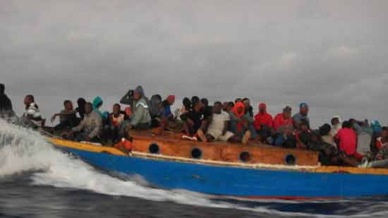 A boat with 70 Haitians on way to U.S. turns around after confronted by Coast Guard