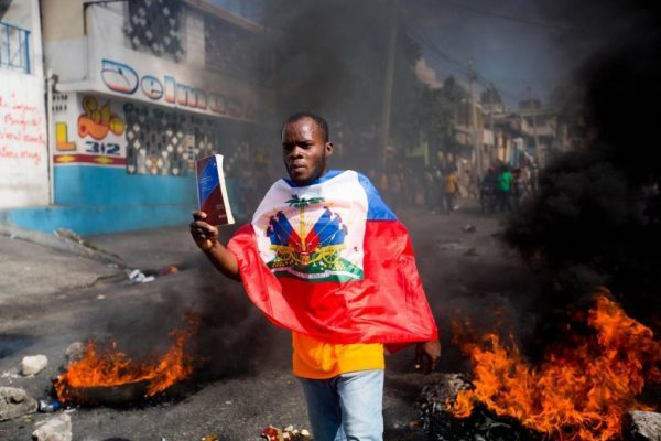It's been 33 years since Haiti welcomed democracy. How did it mark the day? Protests.