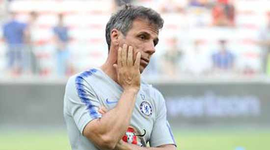 Chelsea Considers Zola to Replace Sarri.