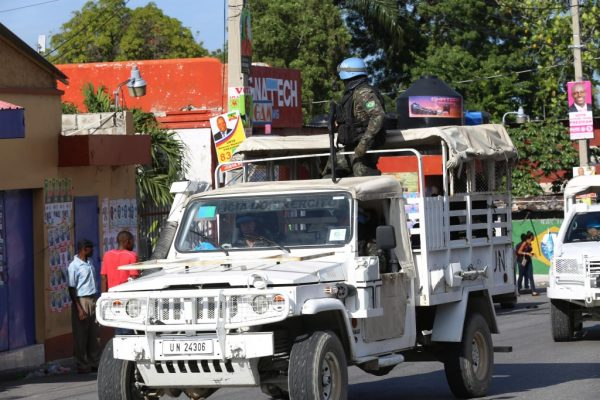 Accident involving UN armored vehicle kills four in Haiti