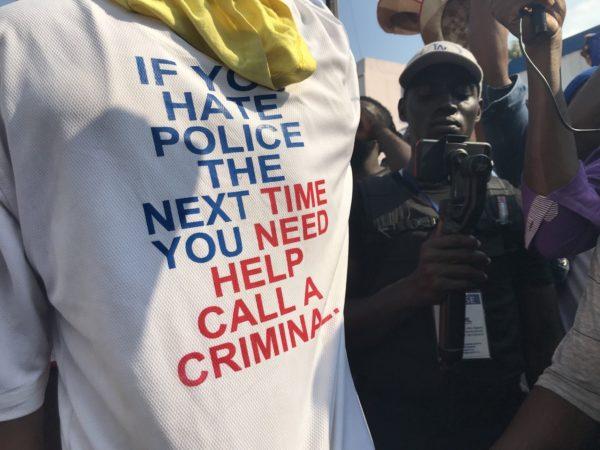 Haiti Police Call for Right to Unionize