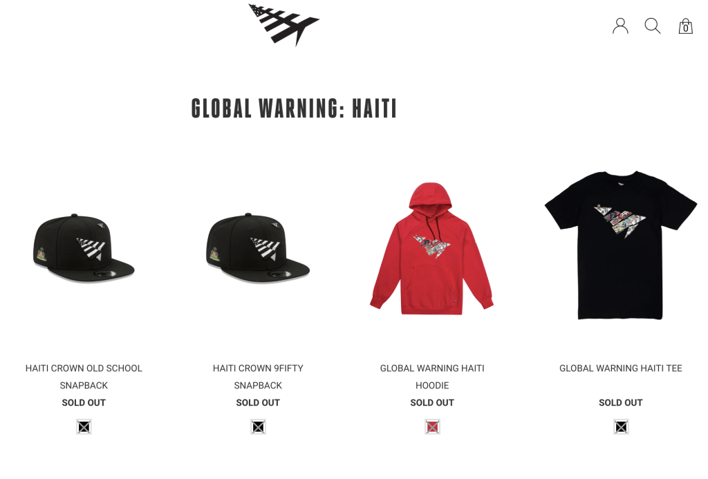 Haiti Capsule Collection by Roc Nation's Paper Planes Sells Out