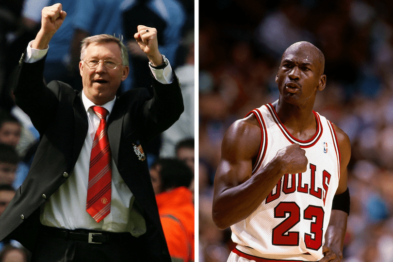 Manchester United great Sir Alex Ferguson is football's closest figure to Michael Jordan