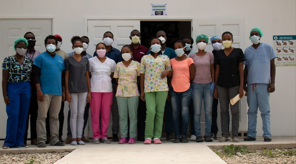 Covid-19 Haiti: Saint-Boniface Hospital in Fonds-des-Blancs, on the frontline of the great South