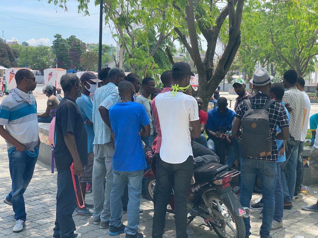 Haiti: Champs de Mars in the time of  coronavirus