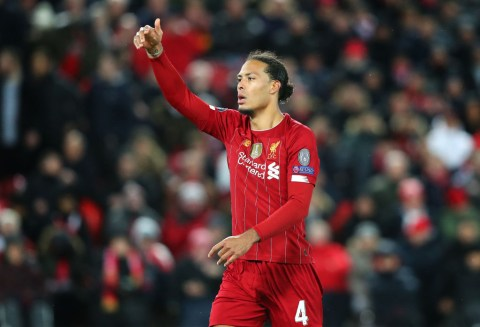 Richarlison claims Virgil van Dijk is not the world's best defender