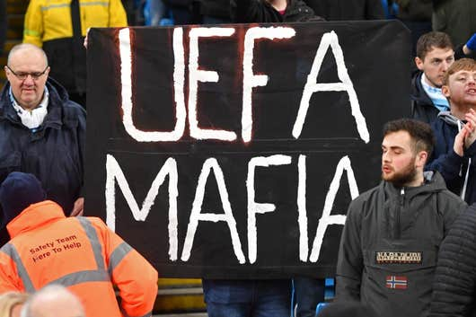 Man City fans plan Uefa protest ahead of Champions League ban appeal