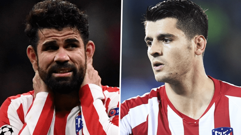 Atletico Madrid strikers Costa and Morata cannot currently play together, admits Simeone