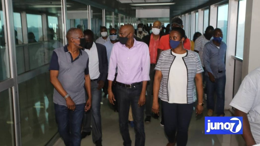 Jovenel Moise said Haiti's airport could reopen on June 30