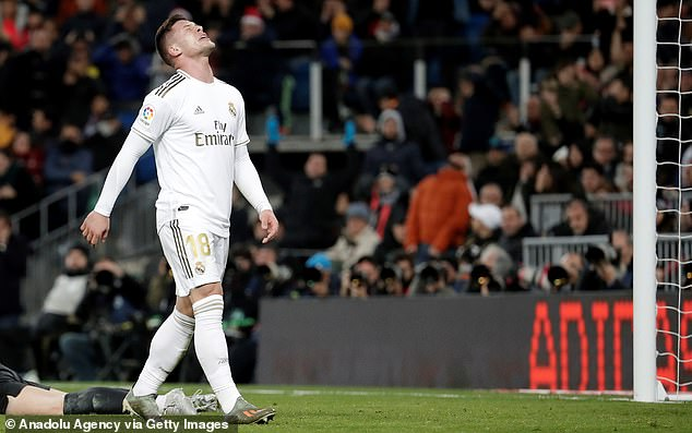 Leicester 'plan £31m swoop for Madrid flop Luka Jovic in search for Jamie Vardy's strike partner'