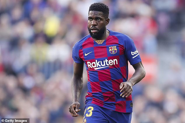 Arsenal, West Ham and Everton 'involved in three-way tussle for Barcelona defender Samuel Umtiti'