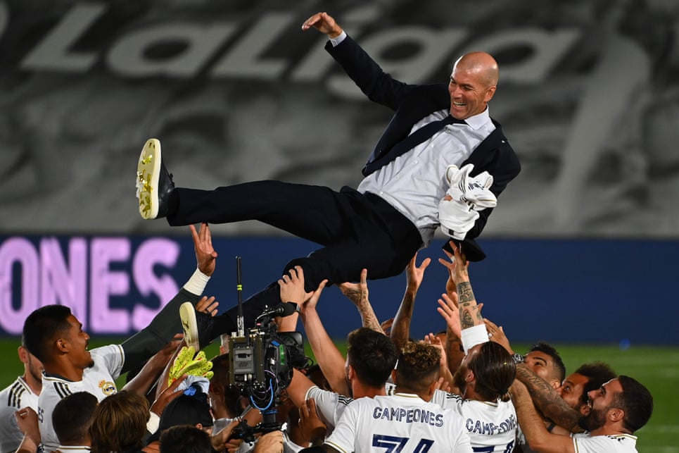 Zinedine Zidane finds his ultimate fulfilment after Real Madrid's title