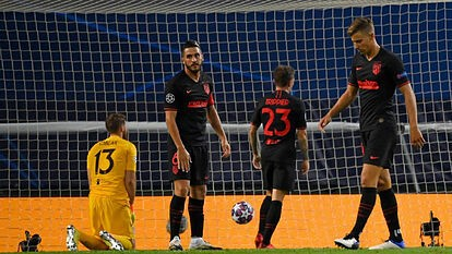 Another European disappointment for Atletico Madrid