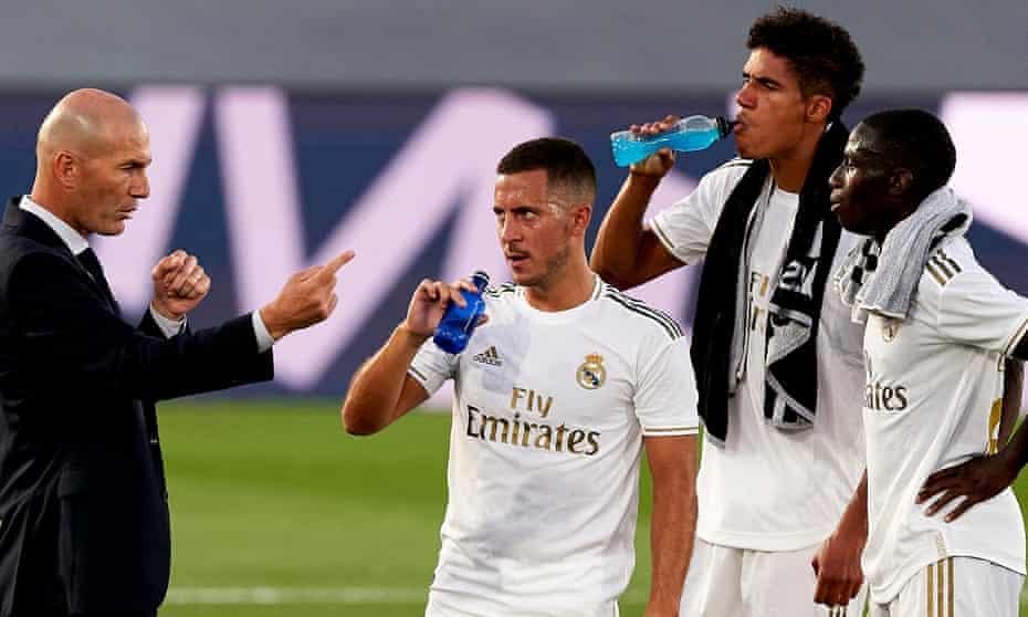 Zinedine Zidane's back-to-basics approach gives Real Madrid hope against City