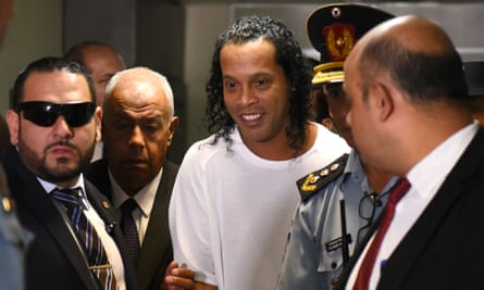 Ronaldinho set for release after bizarre six-month stay in Paraguay penal system