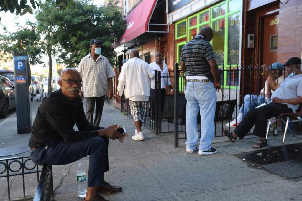 Sidewalk Socials: In Brooklyn, Coronavirus Pushes Life To Sidewalks And Online