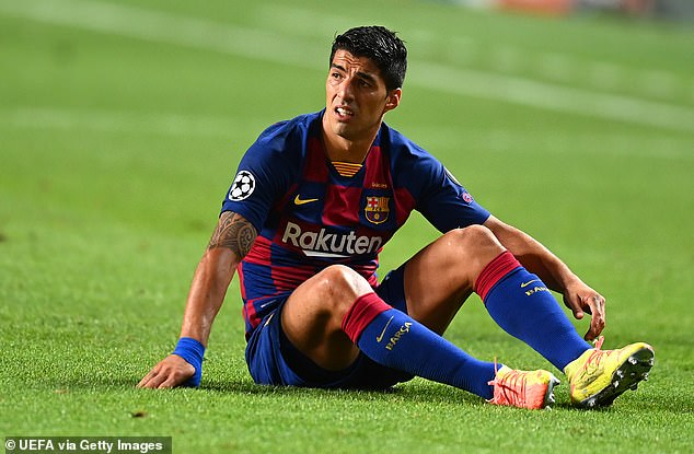 Luis Suarez 'could watch Barcelona's season from the stands'