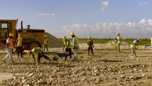 Haitian workers, debris management, World Bank, Haiti