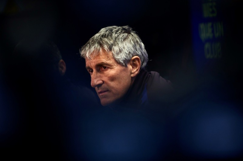 Quique Setien confirms legal action against Barcelona following sacking