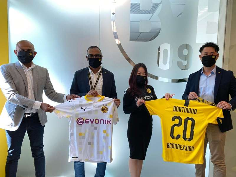 Borussia Dortmund join hands with Brand Connexxion to provide football education for underprivileged kids