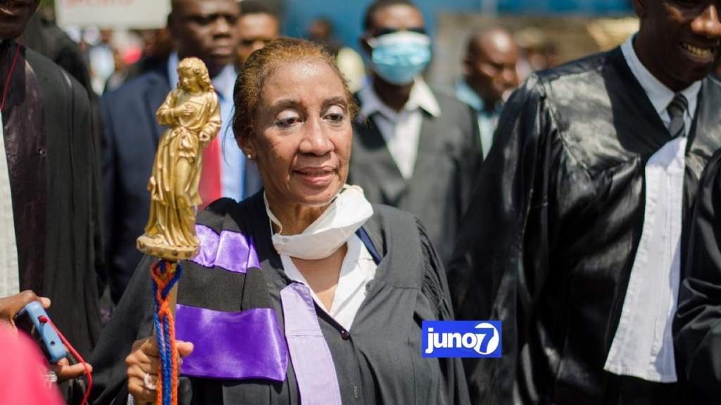 Legros becomes first woman to preside over bar association in Haiti