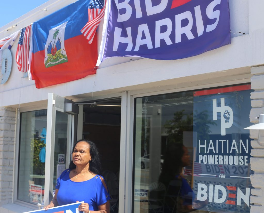 Group led by Haitians, including Abner Louima, helps residents to vote