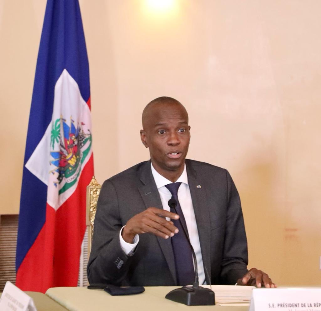President Moïse meets with ministers, electoral council