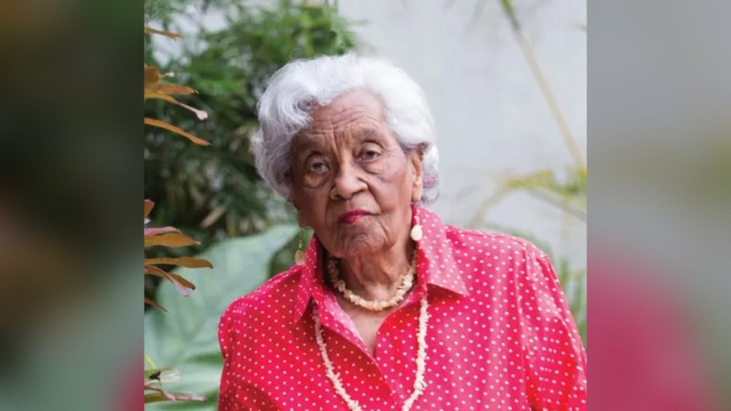 Odette Fombrun, 103-year-old author, grieves for Haiti