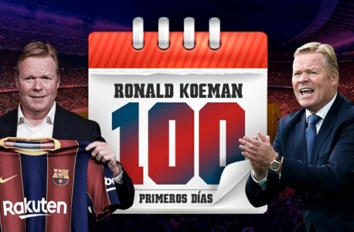 Ronald Koeman first 100 days as barcelona boss