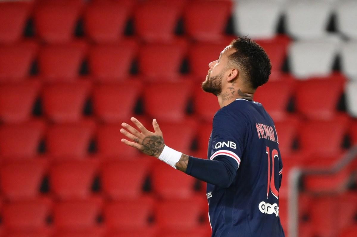 Neymar Haitian soccer player Parc-des-Princes