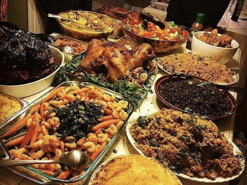 Haitian Thanksgiving Food