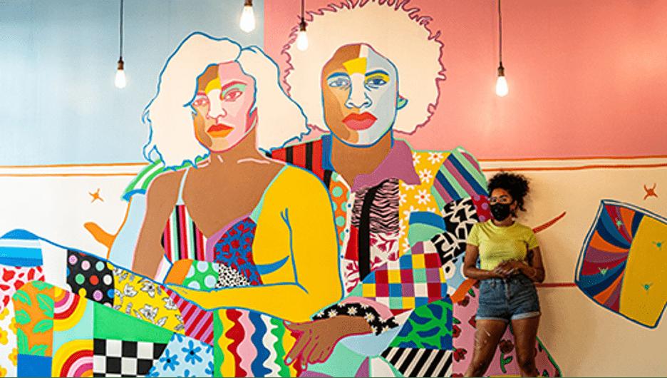 Lauren McKanzie, Brooklyn mural