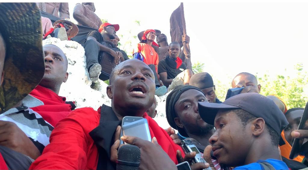 Protesters in Cap-Haitien march against Haiti government