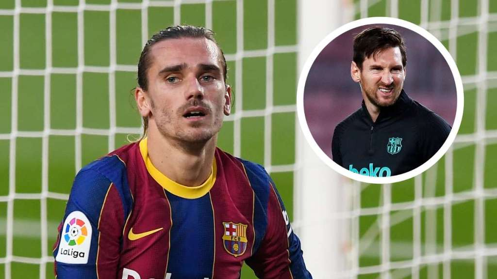 Messi's attitude towards Griezmann is deplorable' – French forward's former advisor savages Barcelona superstar.