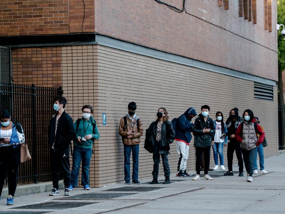 Murrow high school students coronavirus