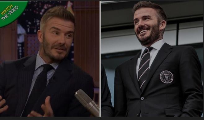 David Beckham could hand Lionel Messi his dream transfer alongside Luis Suarez