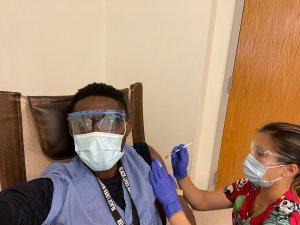 Haitian doctor covid vaccine