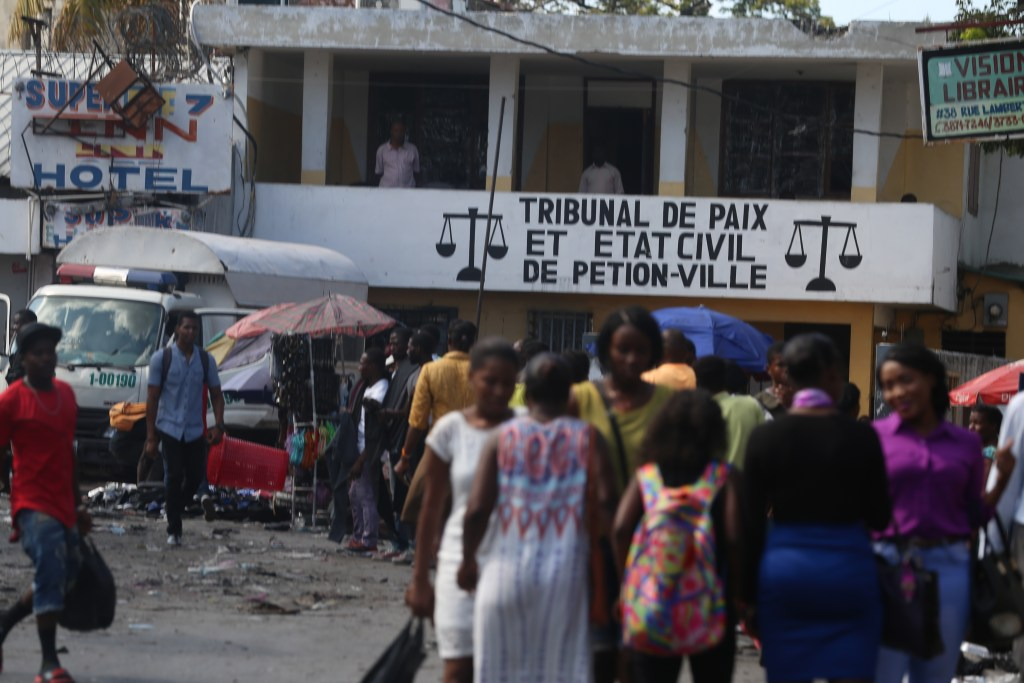haiti judicial office