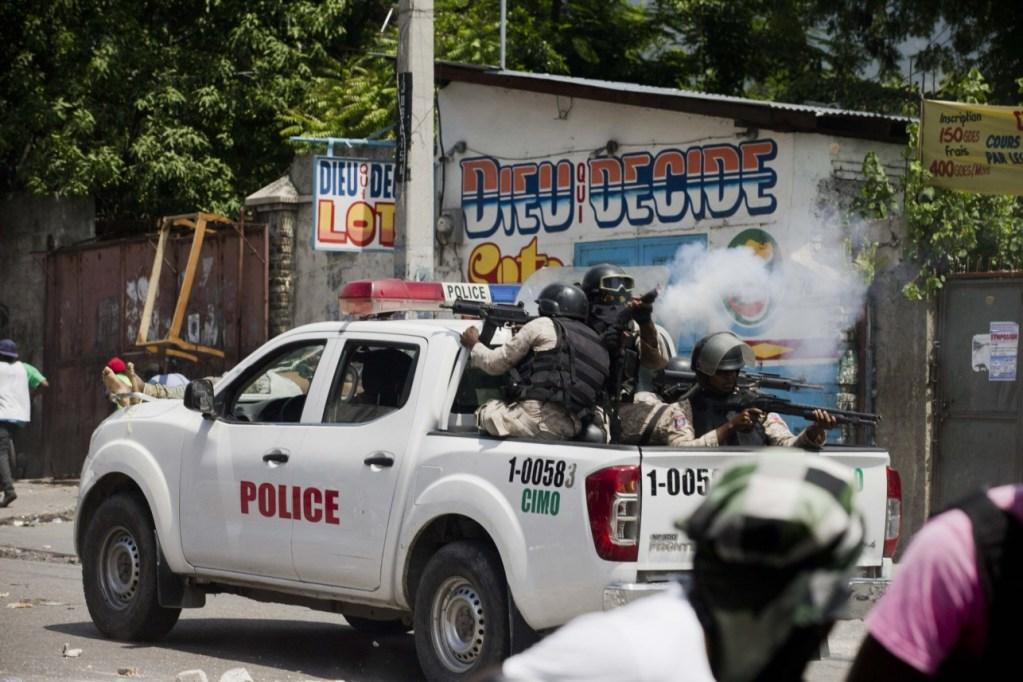 Haiti PM: Gang members shoot at police vehicle