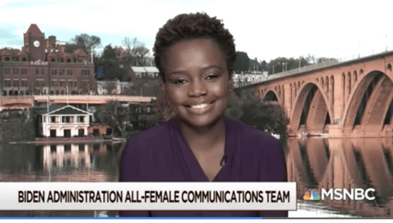 Karine Jean-Pierre, MSNBC media appearance