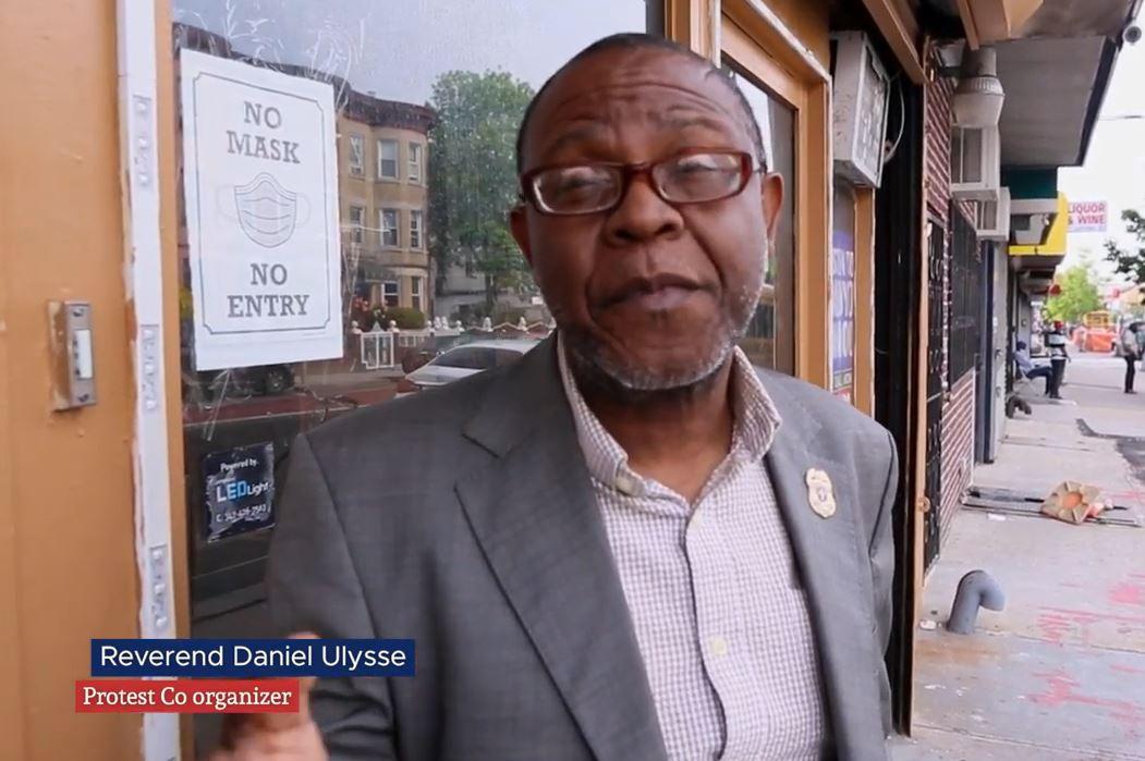 daniel ulysse haitian protester