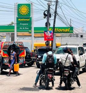 Ongoing gang battles cause fuel shortage
