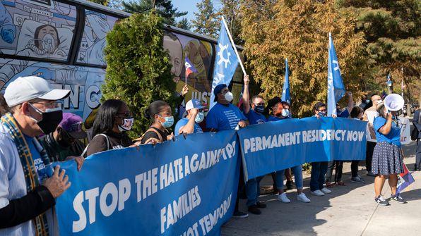 haiti TPS rally, haitian immigrants, immigration policy