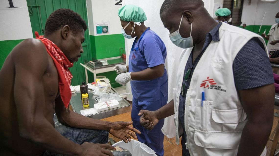 MSF/DWB, Medecins sans frontières, martissant gangs, haiti violence