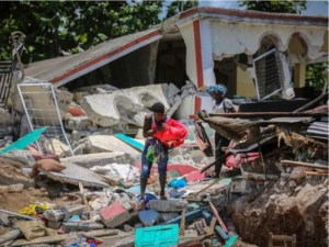 State of emergency extended in Haiti's earthquake-ravaged south