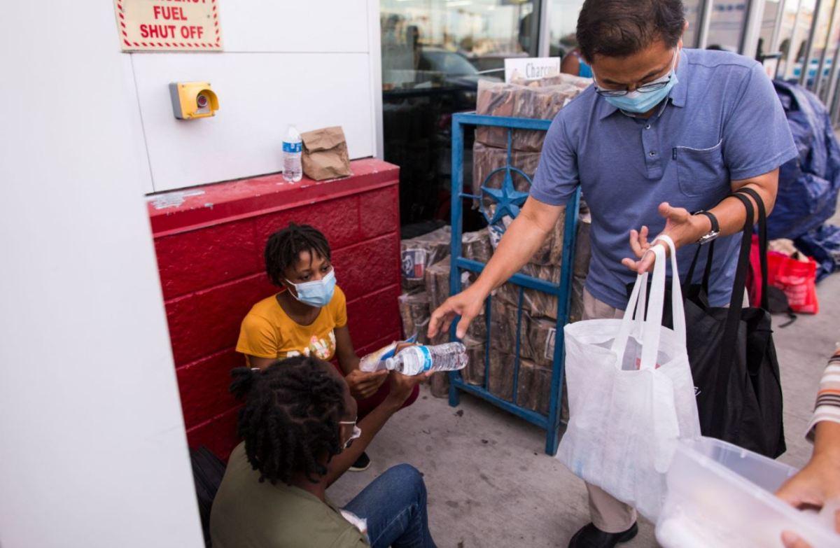 greg yeum helps haitian migrants