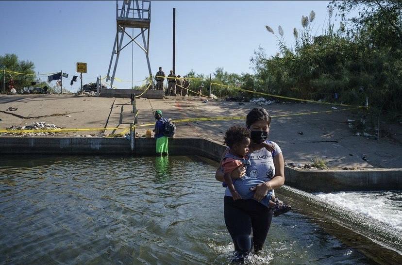 haitians in Del Rio, haitian migrants, haitian asylum seekers, black immigrants, black refugees