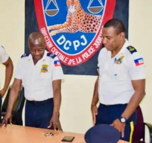 Frédéric Leconte installé à la Direction Centrale de la Police Judiciaire 1