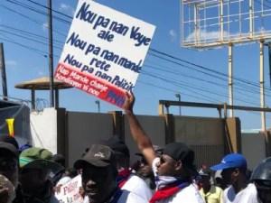 Haïti / Protestation / PNH : L'OPC s'invite en médiateur 2